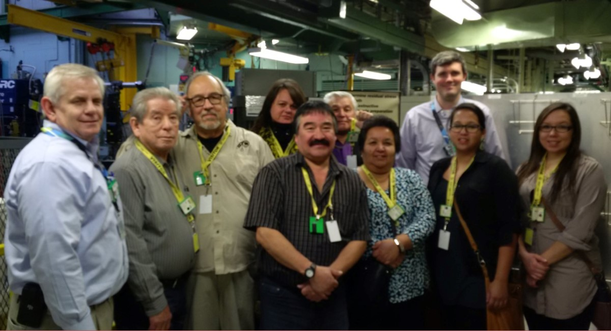Canadian Nuclear Laboratories Tour with AOPFN Chief and Council and Economic Development Department