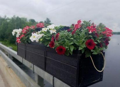 """THANK YOU """"FOR THE FLOWERS ON THE BRIDGE"""""""